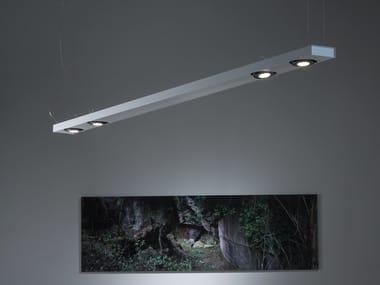 Lampada a sospensione in alluminio SISTEMA BRICK | Lampada a sospensione