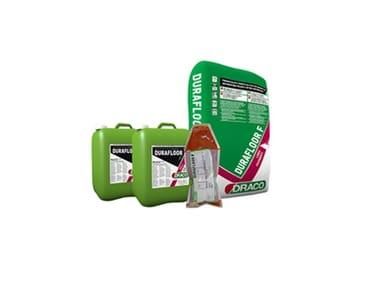 Sistema di pavimentazione antiscivolo in poliuretano-cemento SISTEMA DURAFLOOR 6.12