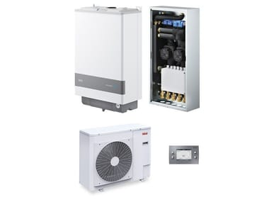 Hybrid wall-mounted boiler SISTEMA RESIDENCE HYBRID