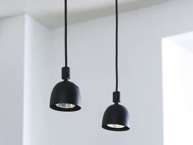 LED swivel pendant lamp SISTEMA U | Pendant lamp