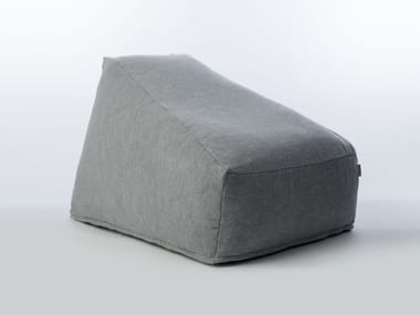 Garden bean bag SITE SOFT MOSS | Garden armchair