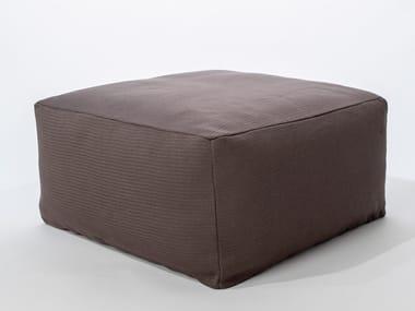Square polyester pouf SITE URBAN | Pouf