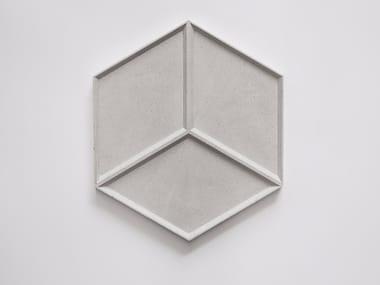 Concrete wall tiles SIX