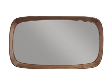 Rectangular framed solid wood mirror SIXTY'S | Rectangular mirror