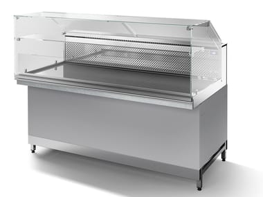 Counter stainless steel Refrigerated display cabinet SKN80