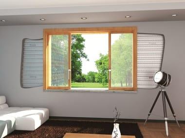 Controtelaio a doppia anta per finestre alzanti scorrevoli SKY DOPPIO