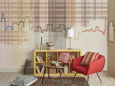 Vinyl kids wallpaper SKYLINE | Wallpaper