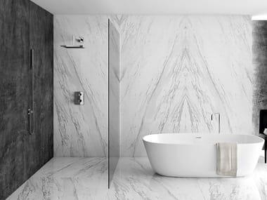 Wall/floor tiles with marble effect SLABS - ELEGANCE