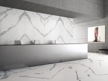 Wall/floor tiles with marble effect SLABS - STATUARIO   Wall/floor tiles