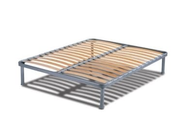 Slatted double beech bed base Slatted bed base