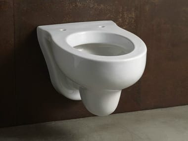 Wall-hung ceramic toilet for children SLEEPY | Wall-hung toilet