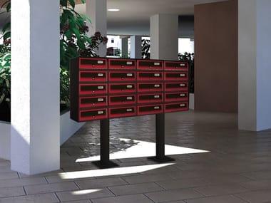 Freestanding magazine size outdoor mailbox SLIM | Freestanding mailbox