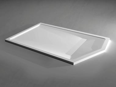 Solid Surface shower tray SLIM CUSTOM