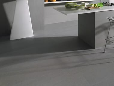 Laminated stoneware wall/floor tiles SLIMTECH BASALTINA STONE PROJECT