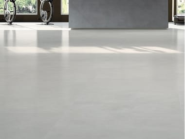 Laminated stoneware wall/floor tiles with resin effect SLIMTECH RE-EVOLUTION SRC010