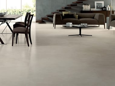 Laminated stoneware wall/floor tiles with resin effect SLIMTECH RE-EVOLUTION SRC020