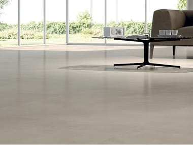 Laminated stoneware wall/floor tiles with resin effect SLIMTECH RE-EVOLUTION SRW010