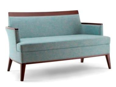 Fabric small sofa METRÒ | Small sofa