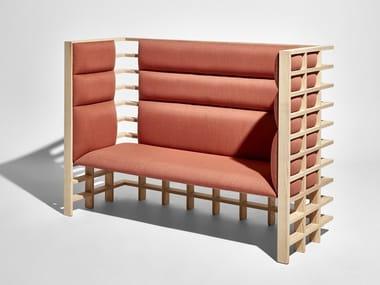 High-back small sofa MOCHI | Small sofa