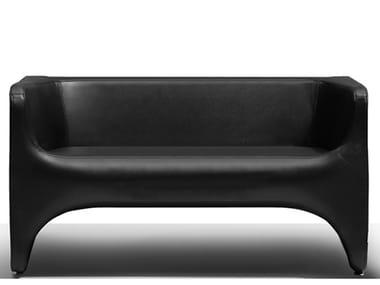 Leather small sofa NU | Small sofa