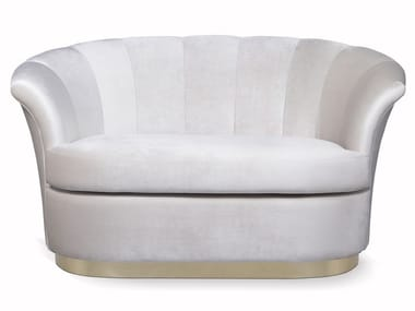 Velvet small sofa BESAME | Small sofa