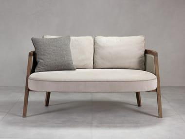 Contemporary style fabric small sofa COCOON | Small sofa