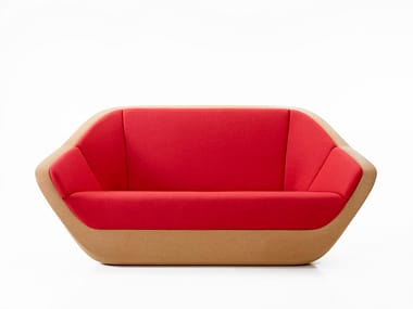 Cork small sofa CORQUES | Small sofa