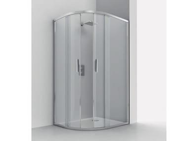 Semicircular shower cabin SMART RA-S