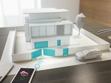 Sistema domotico per controllo accessi smartCONNECTED