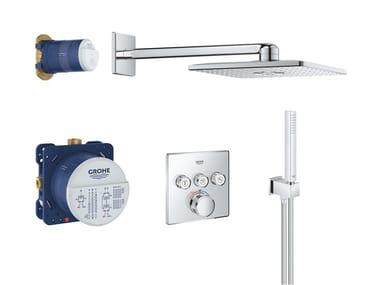 Set doccia termostatico con doccetta con soffione SMARTCONTROL 34706000 | Set doccia