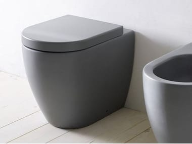Floor mounted ceramic toilet SMILE | Toilet