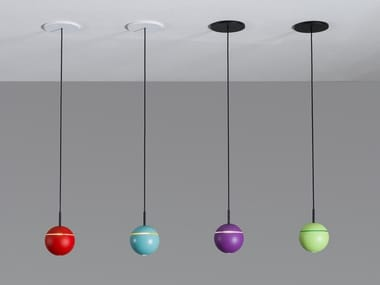 Lampada a sospensione a LED regolabile SNOOKER CANOPY