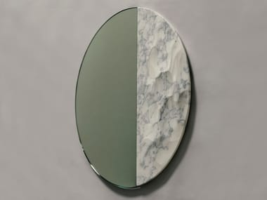 Round wall-mounted mirror SNOWMOTION