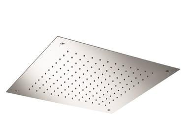 Tête de douche à effet pluie encastrable en acier inoxydable SO627 | Tête de douche