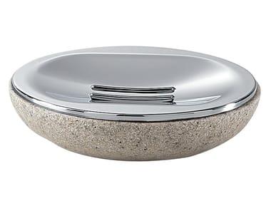 Countertop resin soap dish MITRA | Soap dish