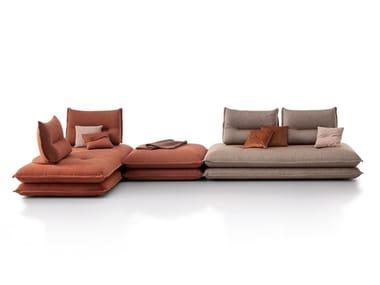 Canapé composable en tissu GEMINI | Canapé