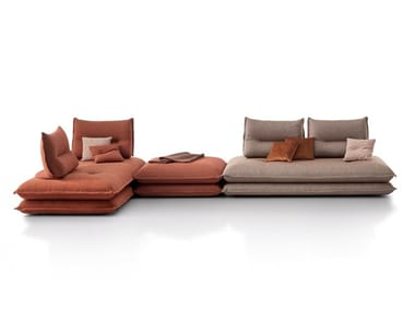 Sectional fabric sofa GEMINI | Sofa