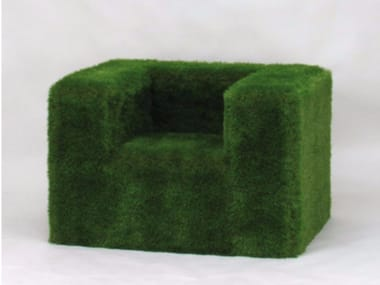 EPS outdoor chair covered with synthetic grass SOFÀ