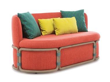 2 seater fabric sofa ROTIN | Sofa
