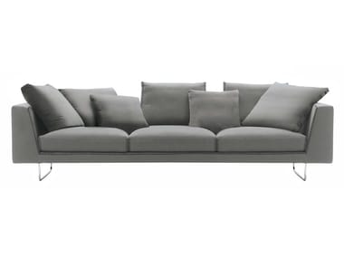 Sled base 3 seater fabric sofa BRIAN | Sofa
