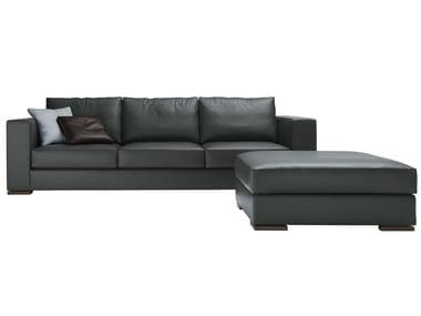 Sectional 3 seater leather sofa ARTHUR | Leather sofa