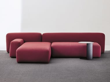 Sectional modular fabric sofa SUISEKI | Sofa