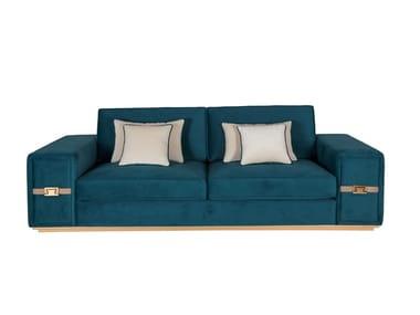 3 seater velvet sofa SUBLIME | Sofa
