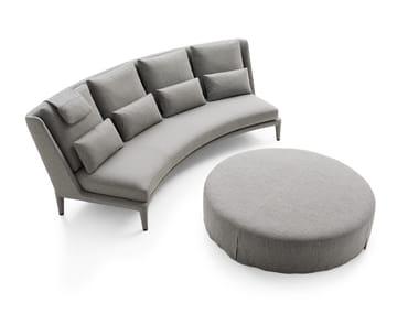 3 seater fabric sofa NIDUS | Sofa