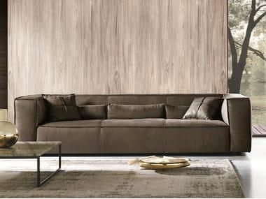 3 seater leather sofa IDA   Sofa