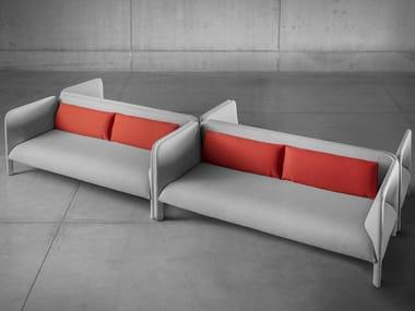 Sofá tapizado de tela MITILO | Sofá