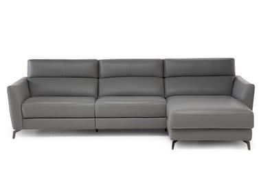 Sofa with chaise longue STAN | Sofa