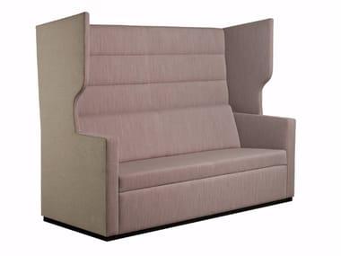 Sofa aus Stoff mit hoher Rückenlehne TANK | Sofa