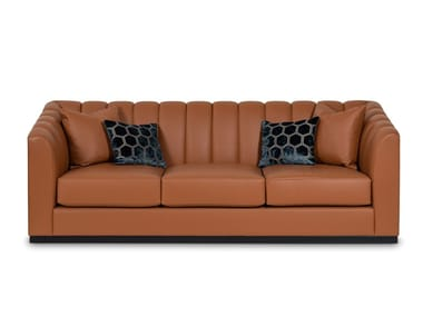 3 seater camel hair sofa CLUB | Sofa