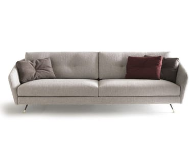 Fabric sofa with removable cover DUKE | Sofa